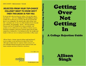 AUTHOR Alison Singh - Getting Over Not Getting In